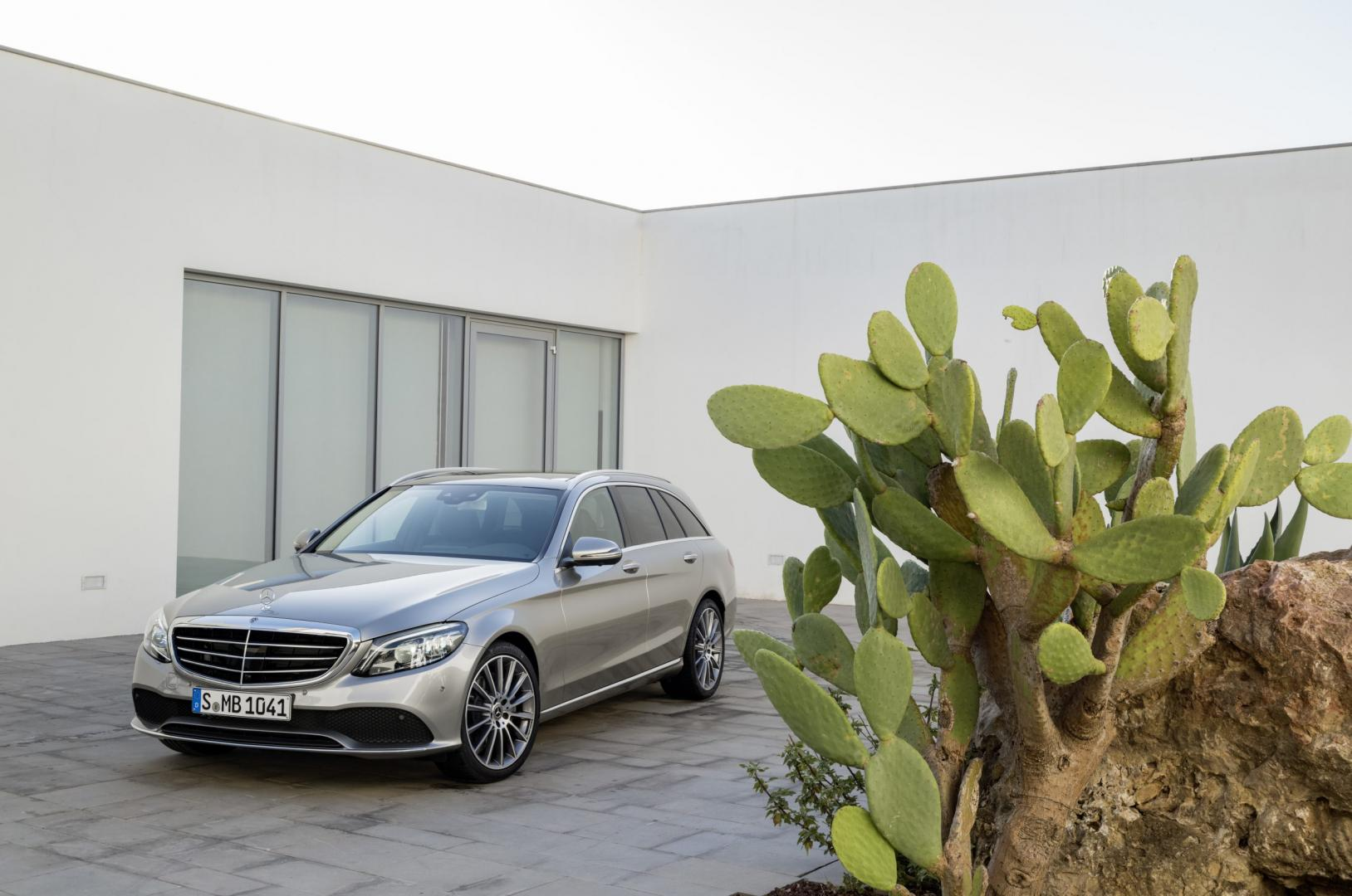 Mercedes C-klasse facelift 2018