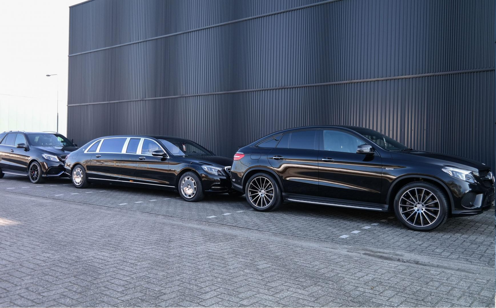 Mercedes-Maybach S 600 Pullman AMG GLE Coupé
