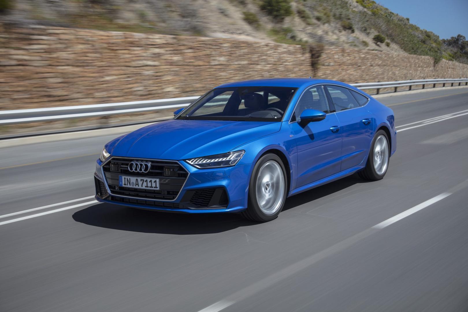 Nieuwe Audi A7 Sportback