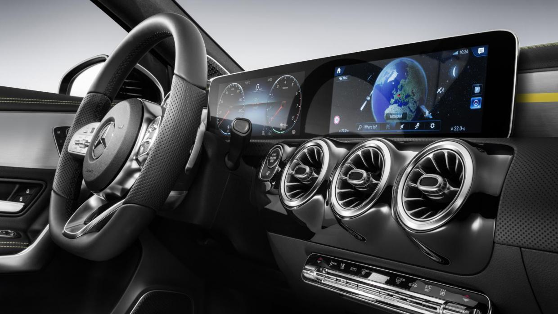 Nieuwe Mercedes A-klasse 2018 interieur