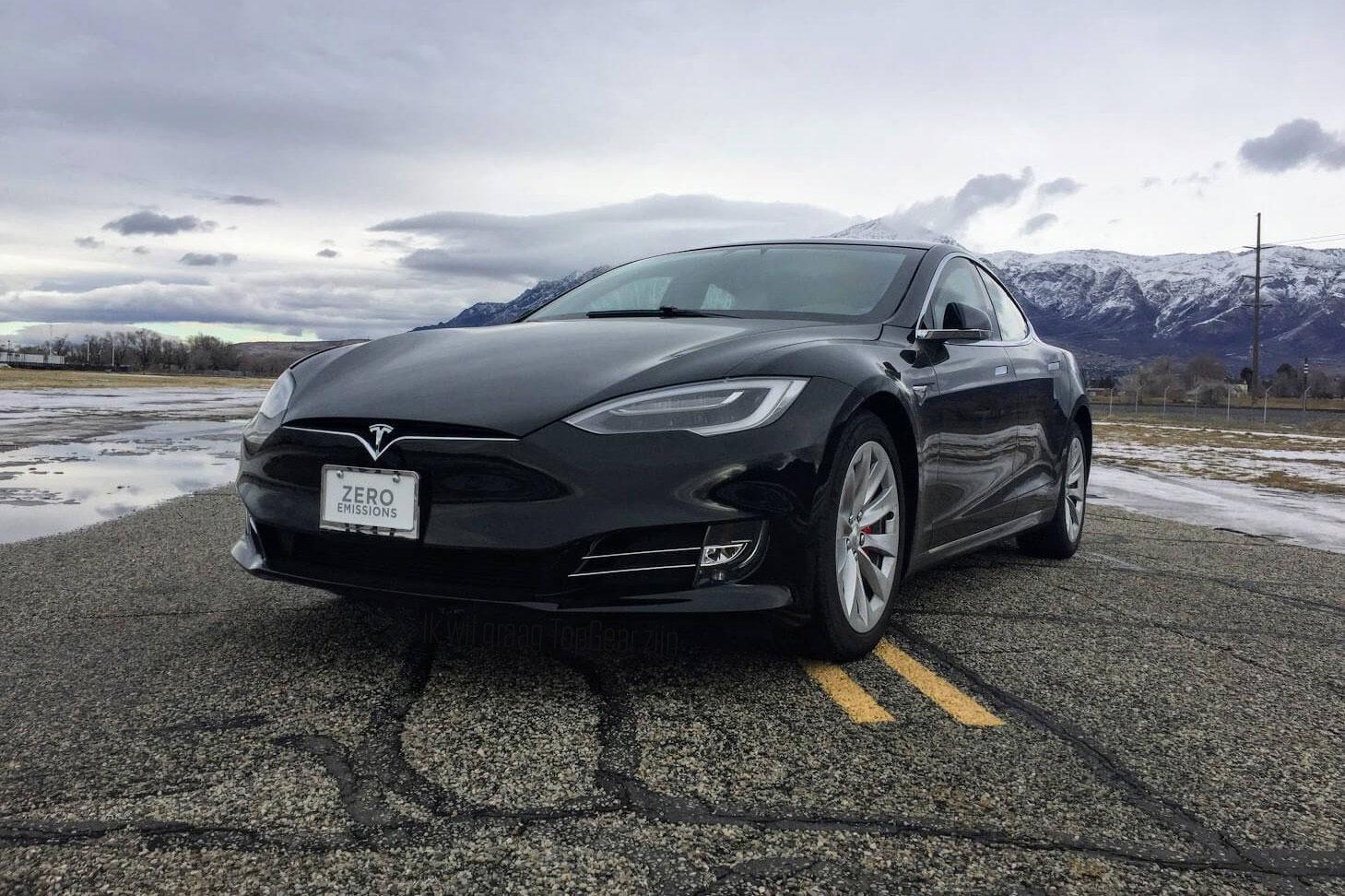 Tesla Model S Is De Snelste Gepantserde Auto Ter Wereld Topgear