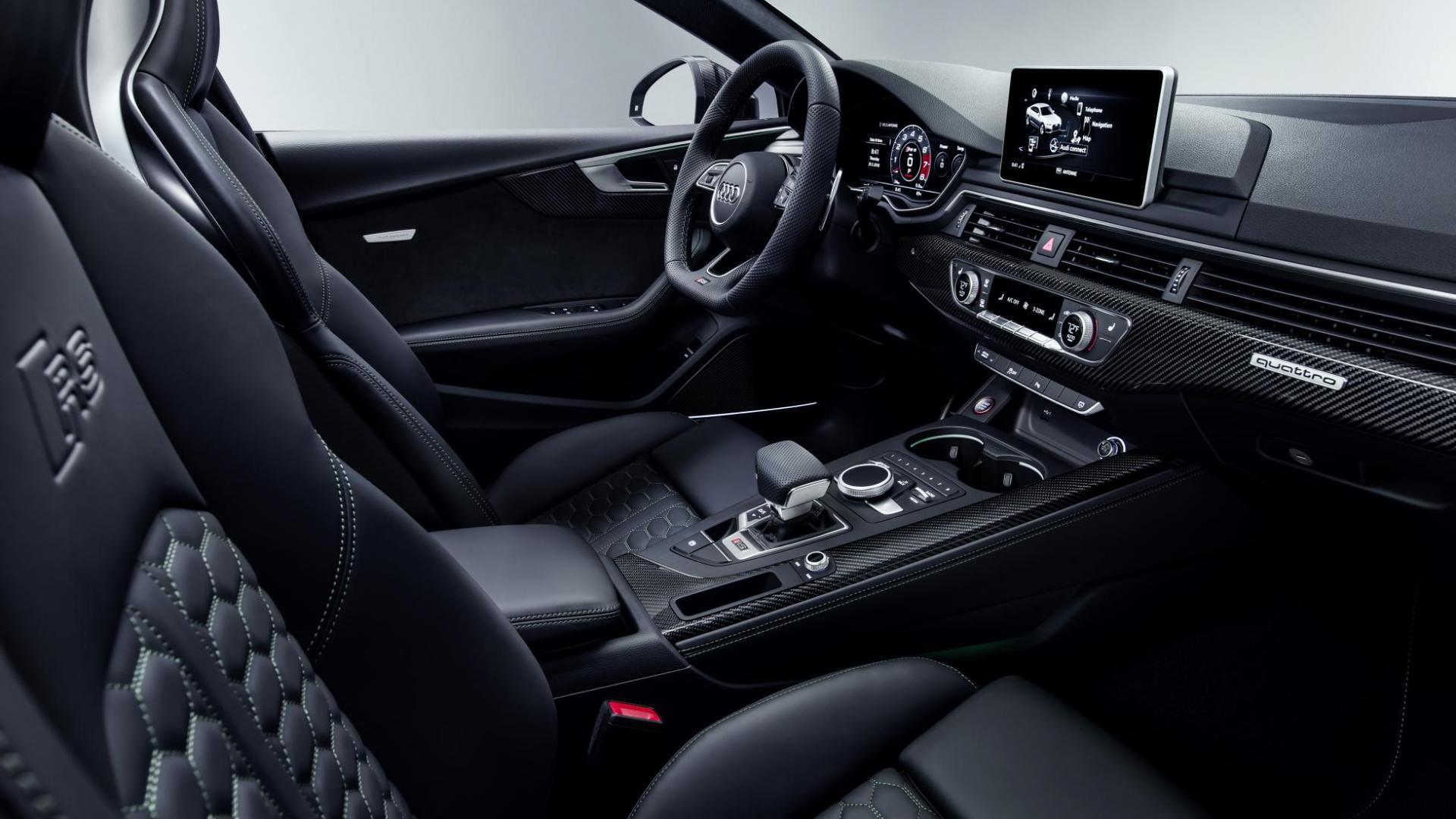 Audi RS 5 Sportback interieur (2018)