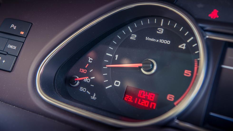 Audi Q7 V12 TDI toerenteller