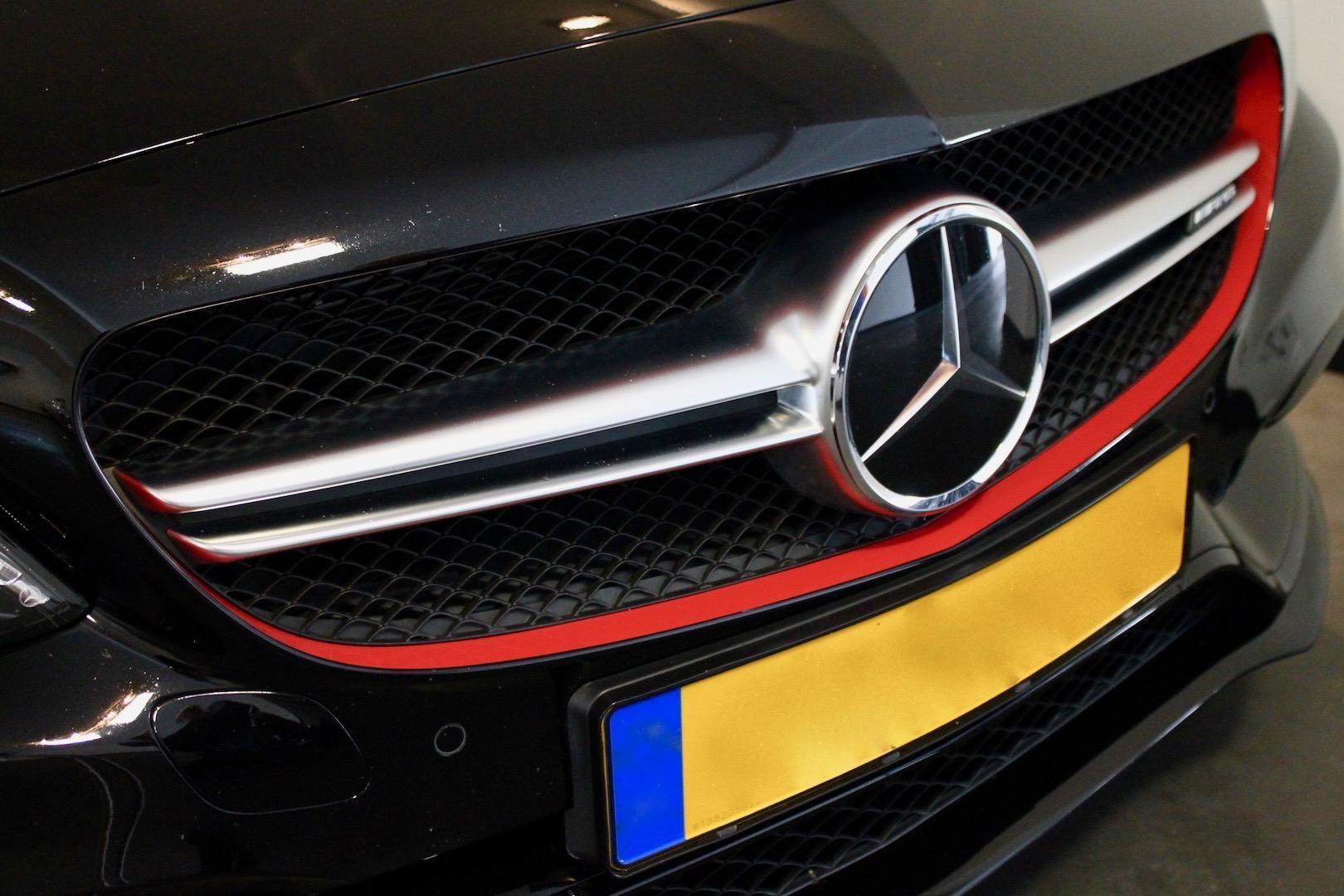 De eerste auto van Max Verstappen mercedes-amg c 63 s first edition