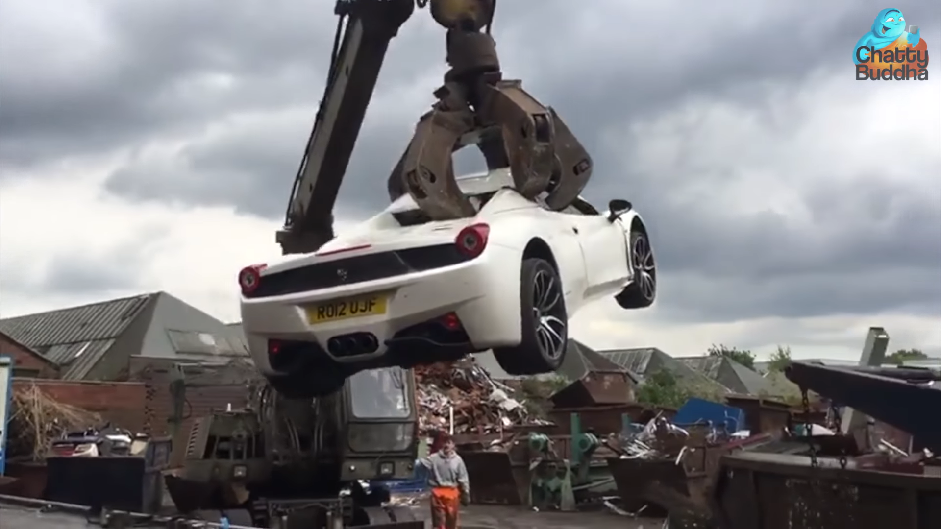 Het verhaal achter de vernietigde Ferrari 458 Spider