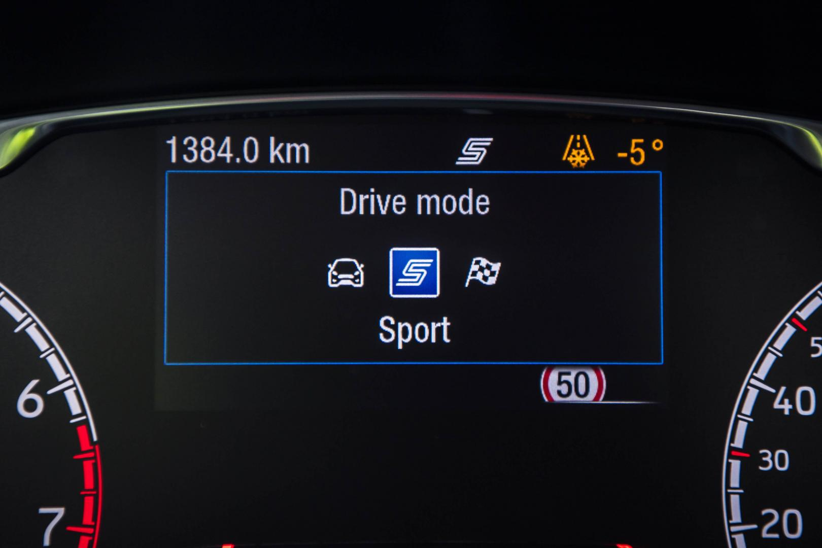 Ford Fiesta ST 2018 drive mode