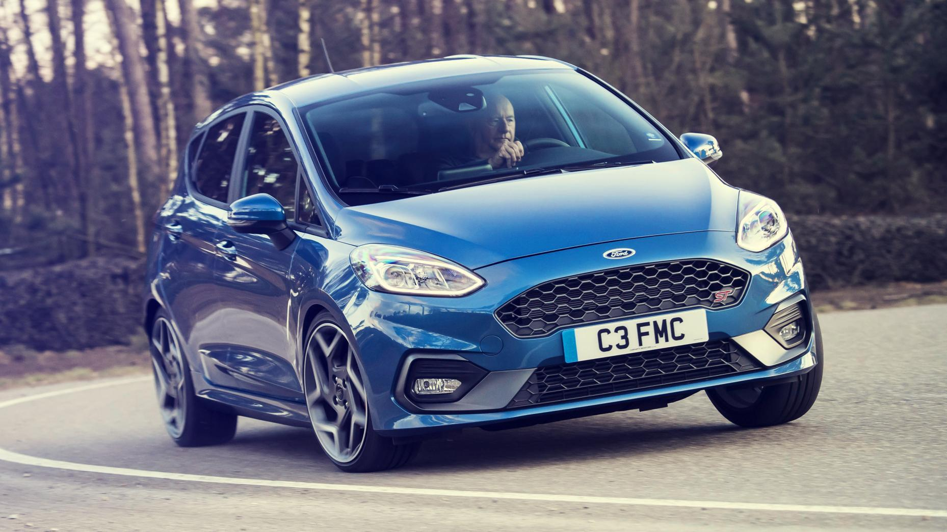 Ford Focus ST bocht