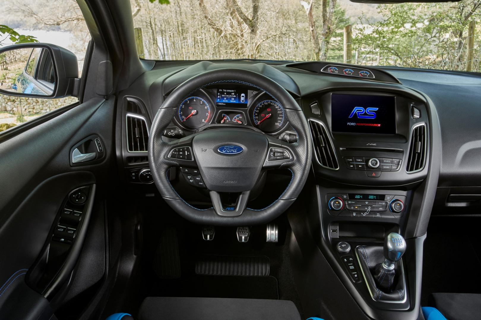 Ford Focus RS Option Pack interieur (2018)