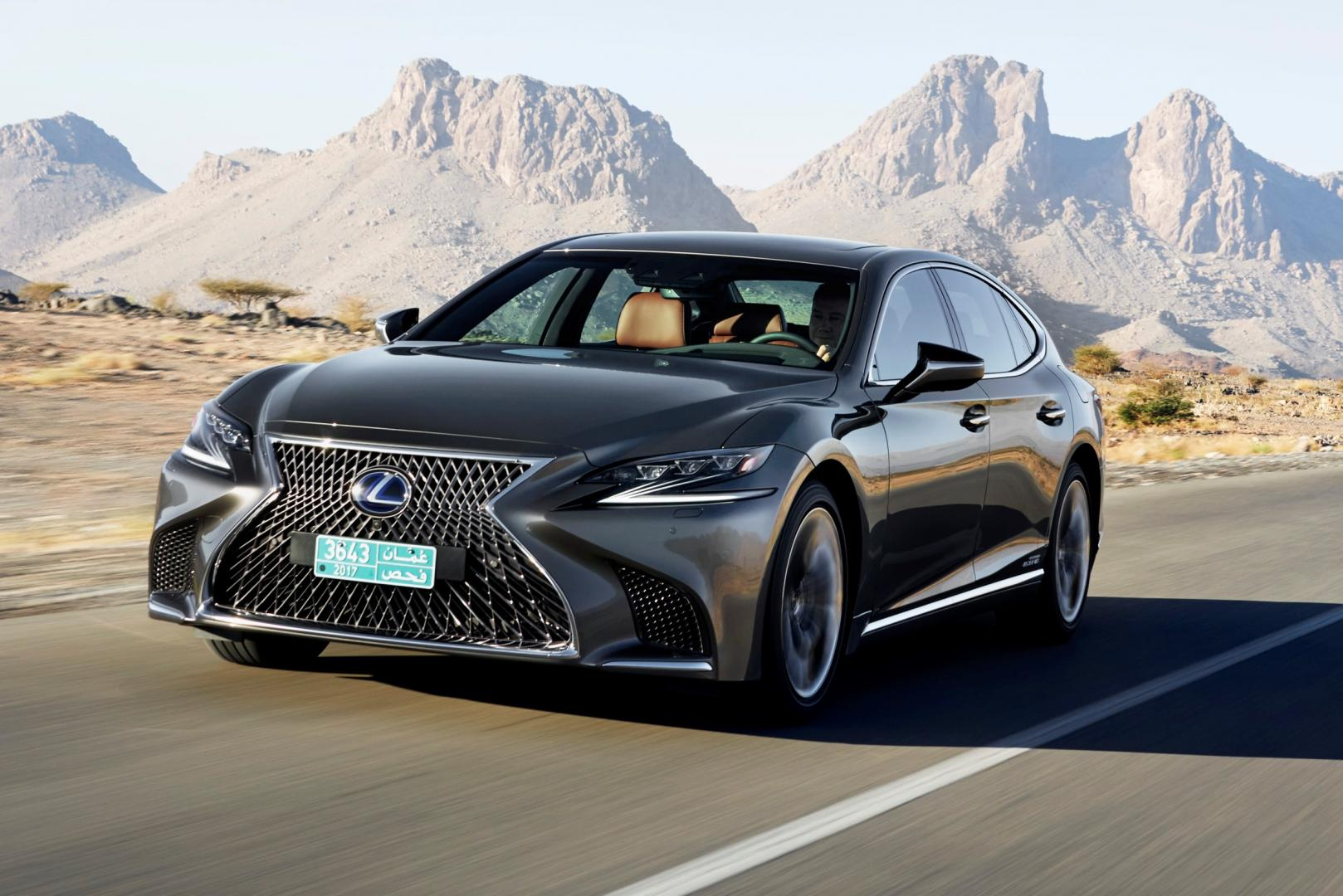 lexus ls 500h awd president line 2018 test specificaties topgear. Black Bedroom Furniture Sets. Home Design Ideas
