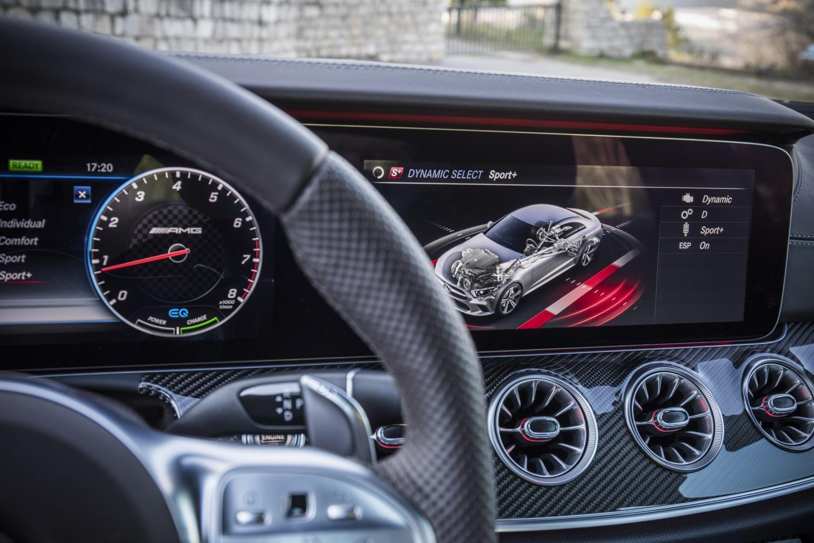 De nieuwe Mercedes CLS: Mercedes-AMG CLS 53