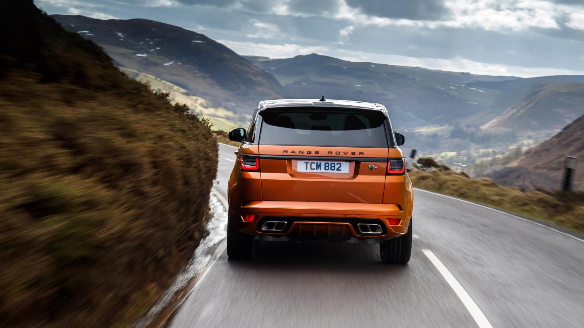 Land Rover Range Rover Sport SVR achterkant