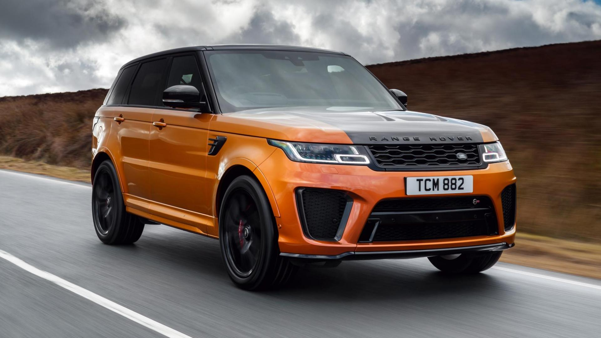 range rover sport svr 2018 eerste rij indruk topgear nederland. Black Bedroom Furniture Sets. Home Design Ideas