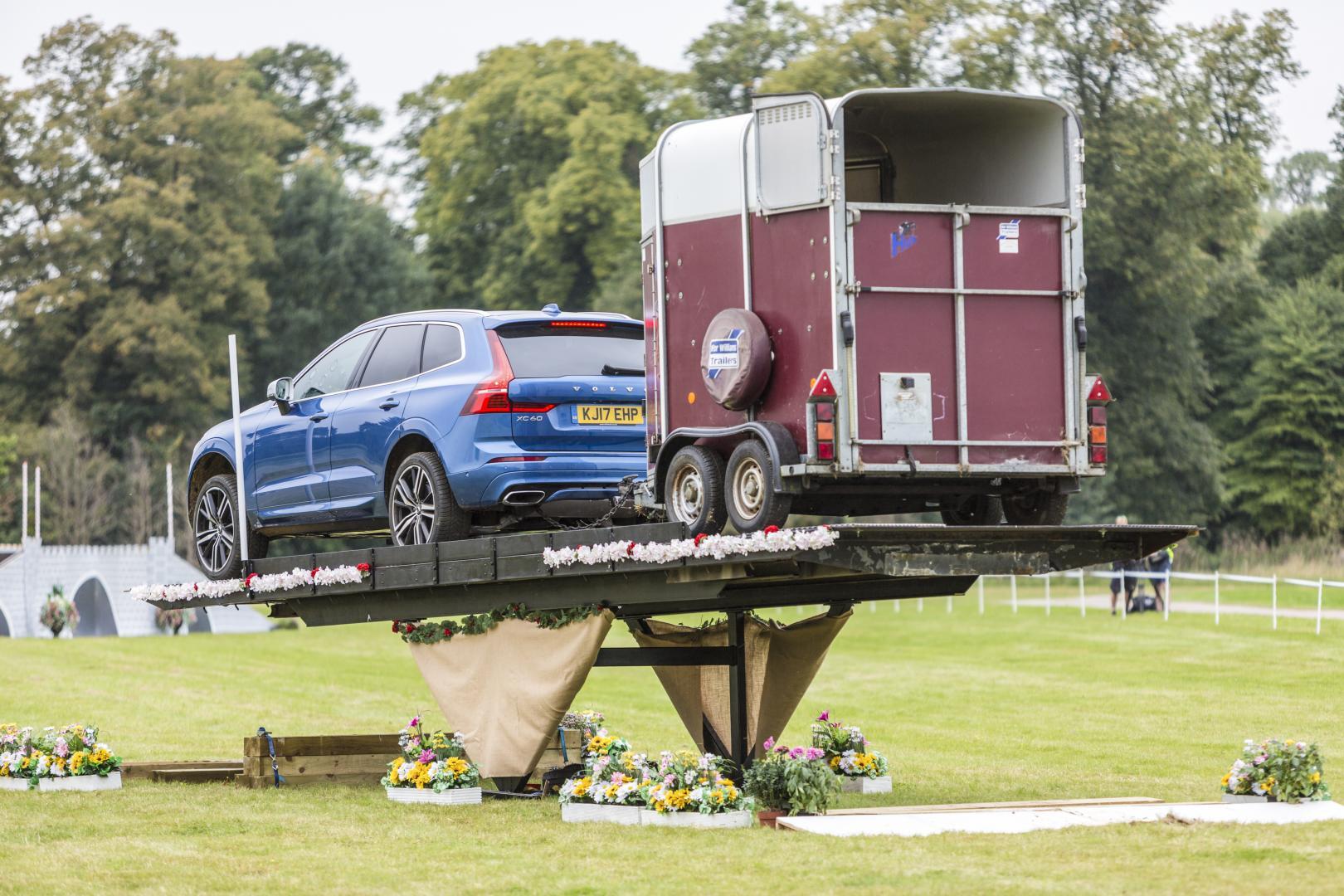 Volvo XC60 met aanhanger