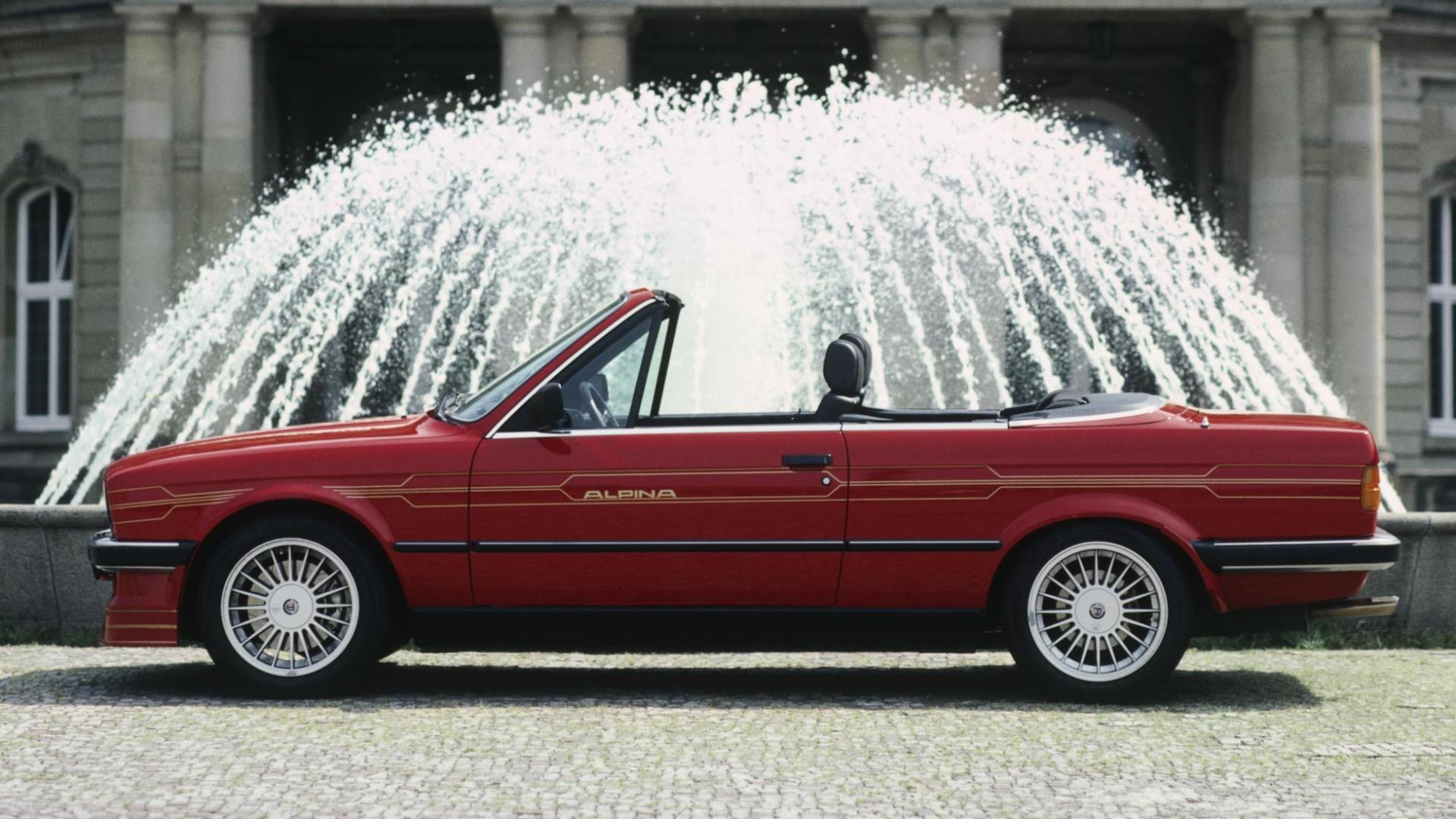 Alpina B6 BMW E30 3-serie cabrio