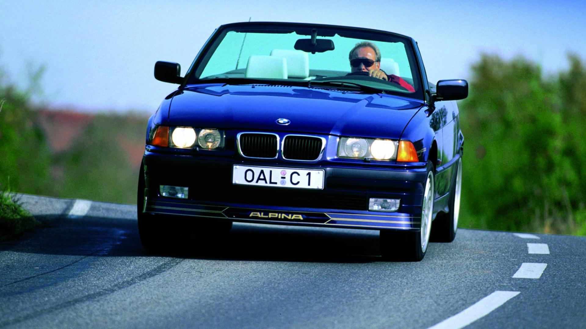 Alpina B3 - BMW 3-serie E36 cabrio