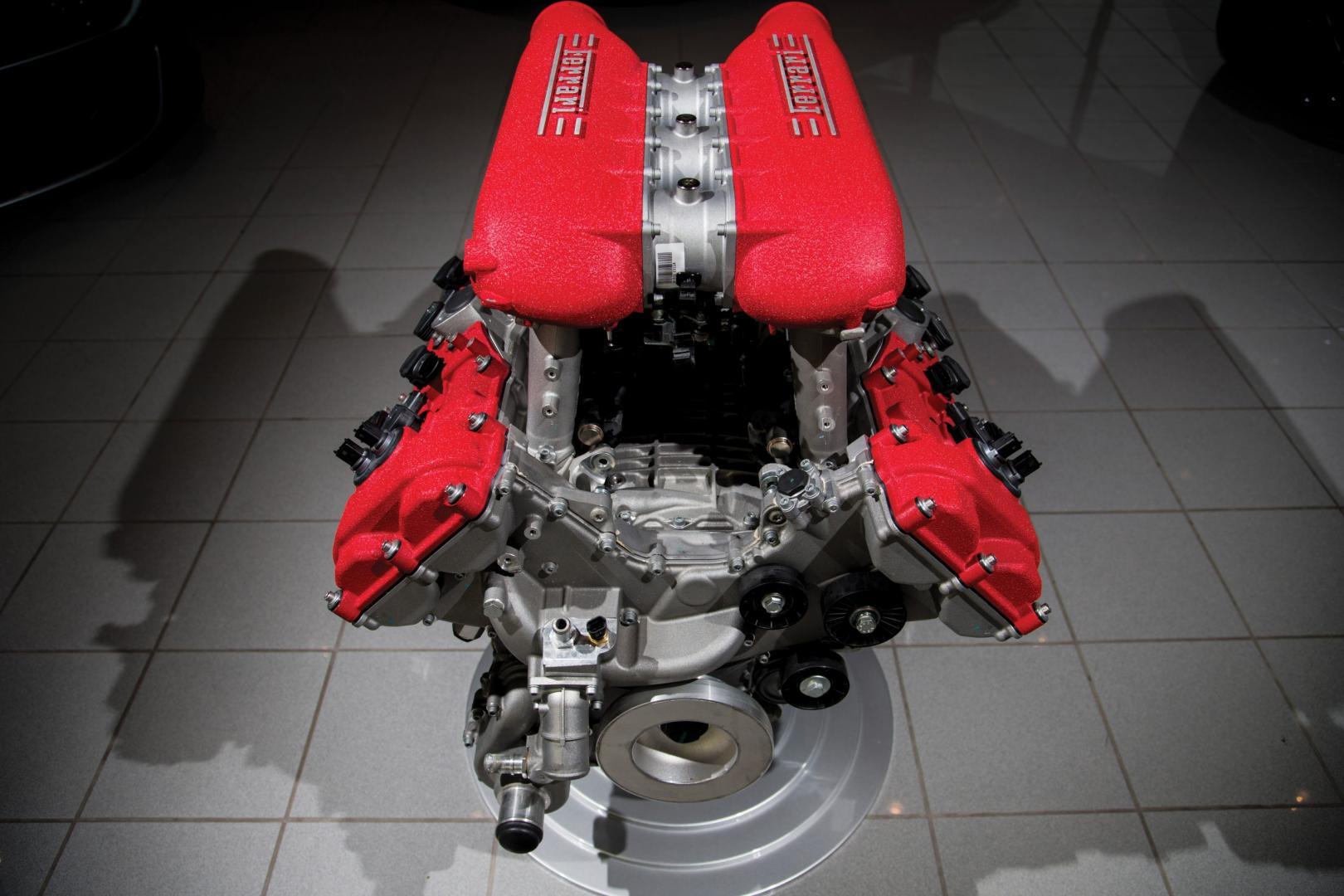 Ferrari 458-motor