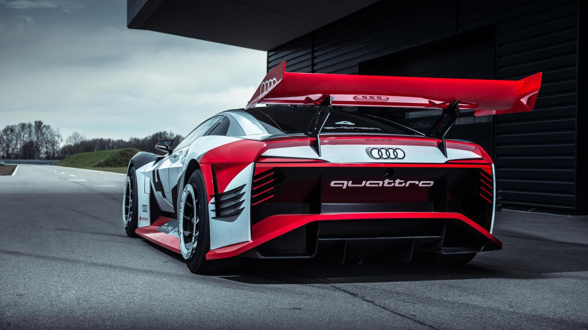 Audi e-tron Vision Gran Turismo (2018)