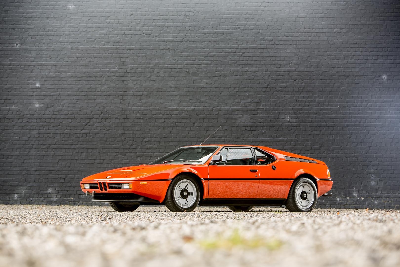 Veiling BMW M1 (1980)
