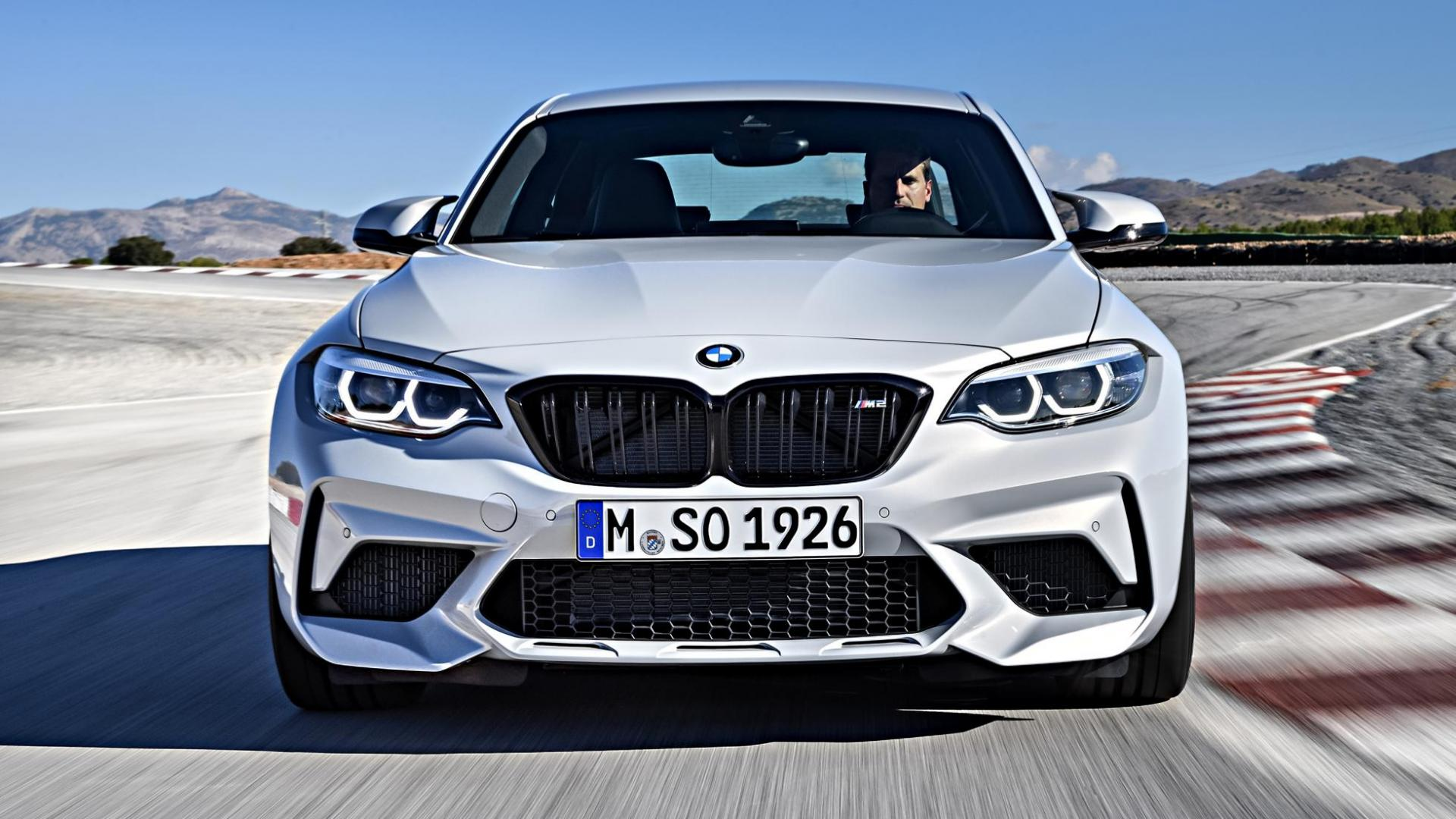 BMW M2 Competition 2018 voorkant