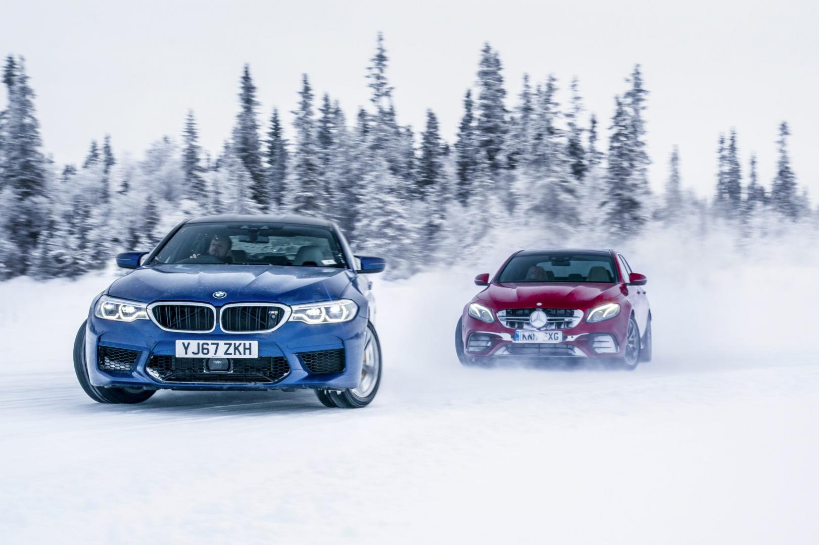 BMW M5 vs Mercedes-AMG E 63 S