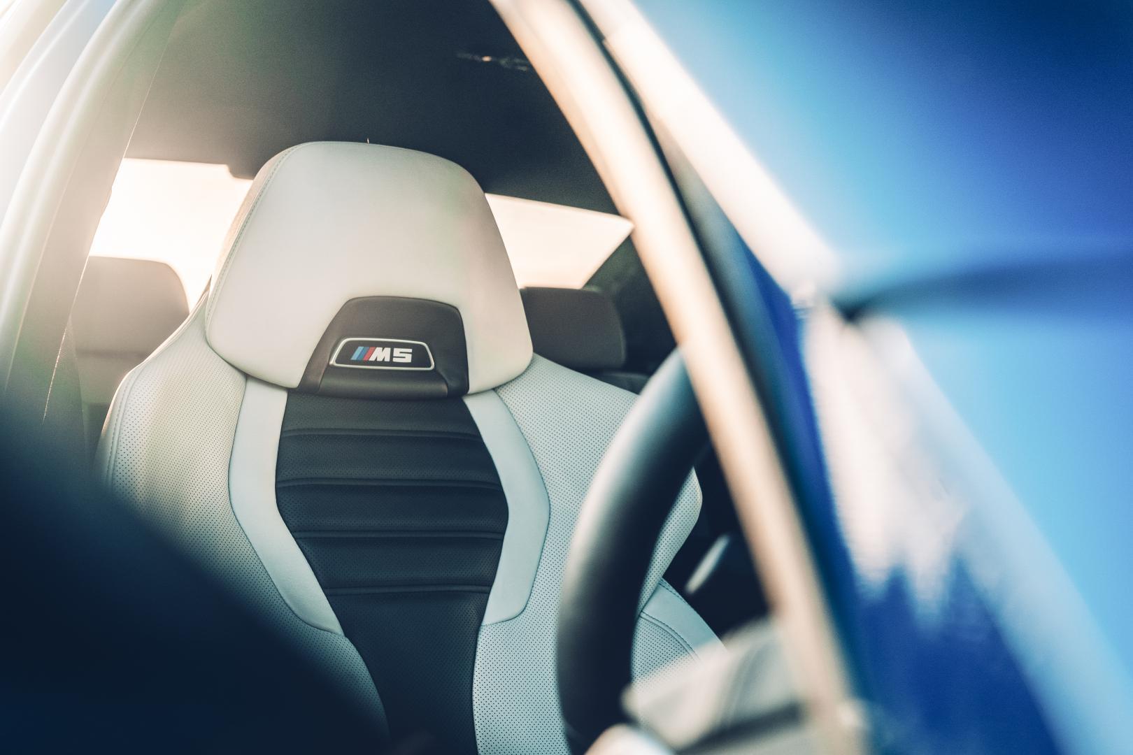 BMW M5 stoelen kuipstoel