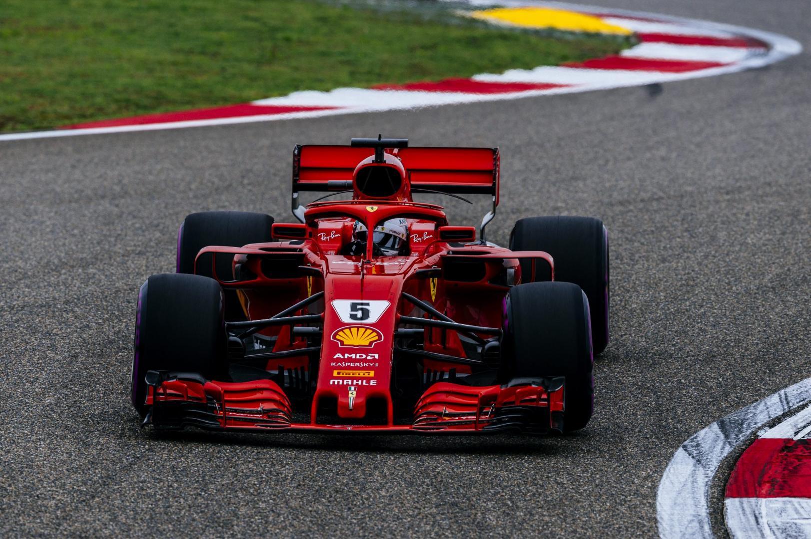 Kwalificatie van de GP van China 2018
