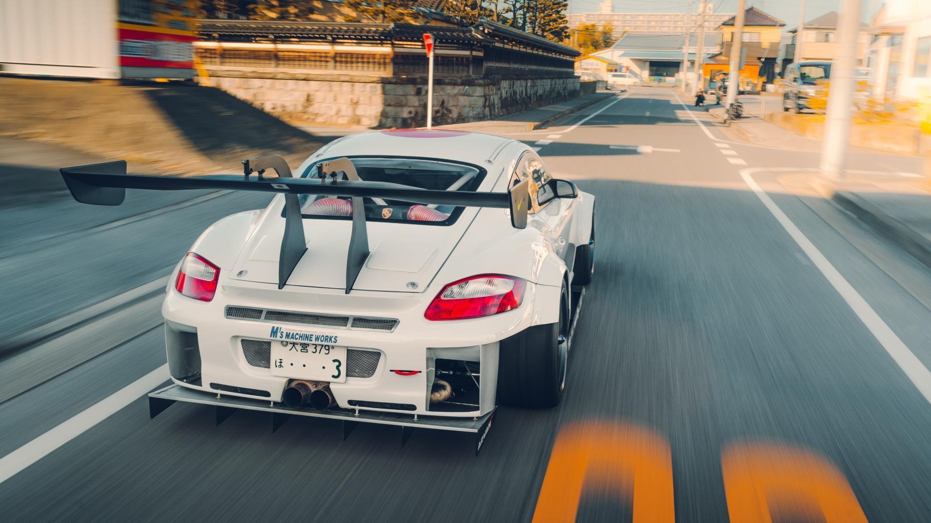 meest extreme Porsche Cayman