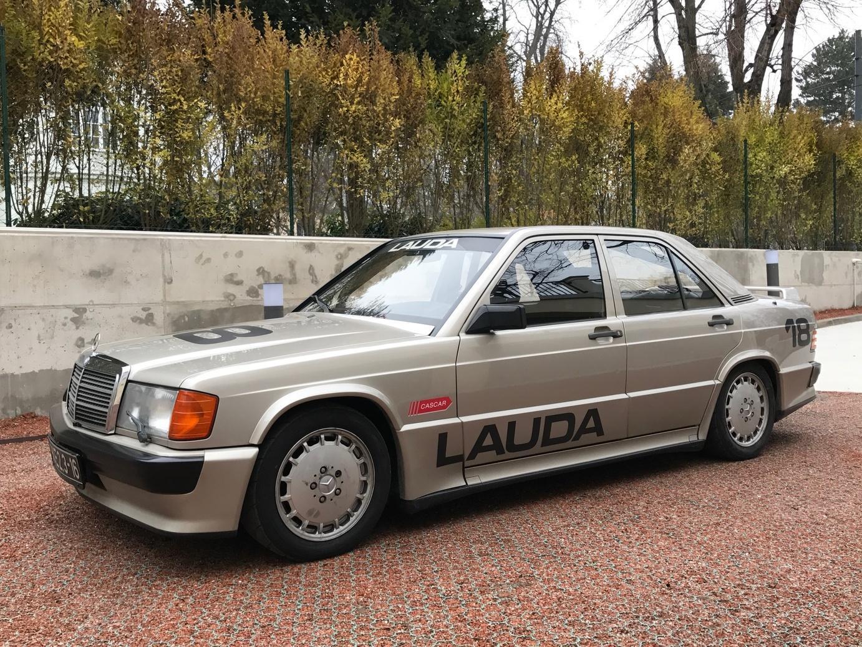 Mercedes 190E 2.3-16v van Niki Lauda is te koop