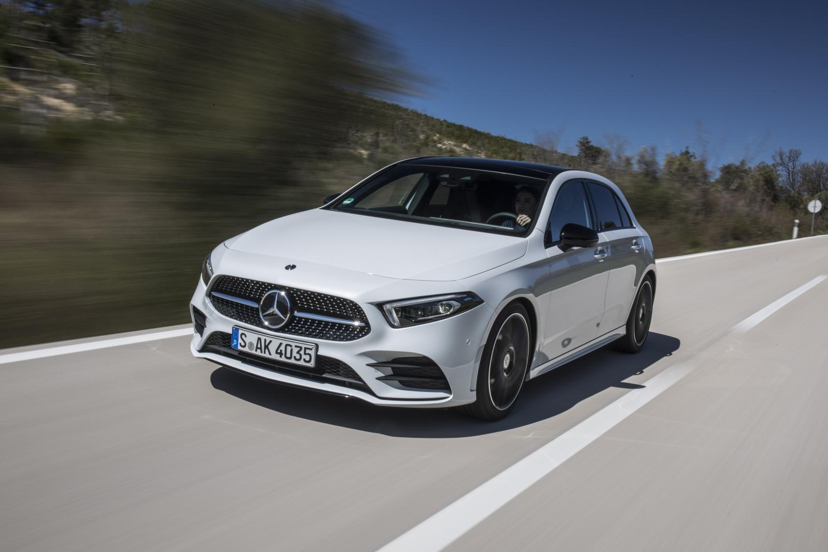 nieuwe Mercedes A-klasse