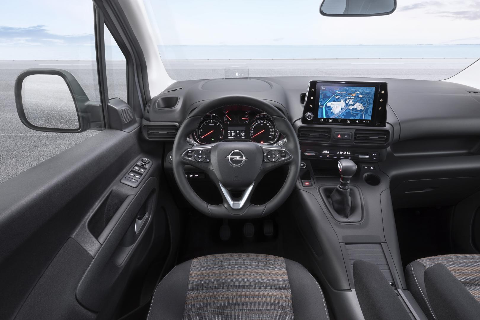 Opel Combo Life 2018 interieur