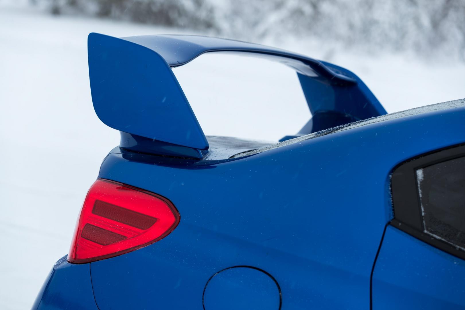 Subaru WRX STI spoiler (2018)
