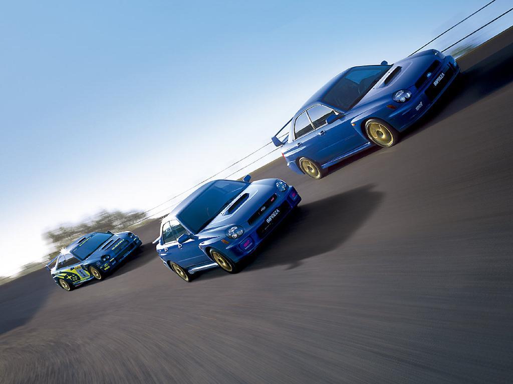 Subaru Impreza WRX STI Bugeye