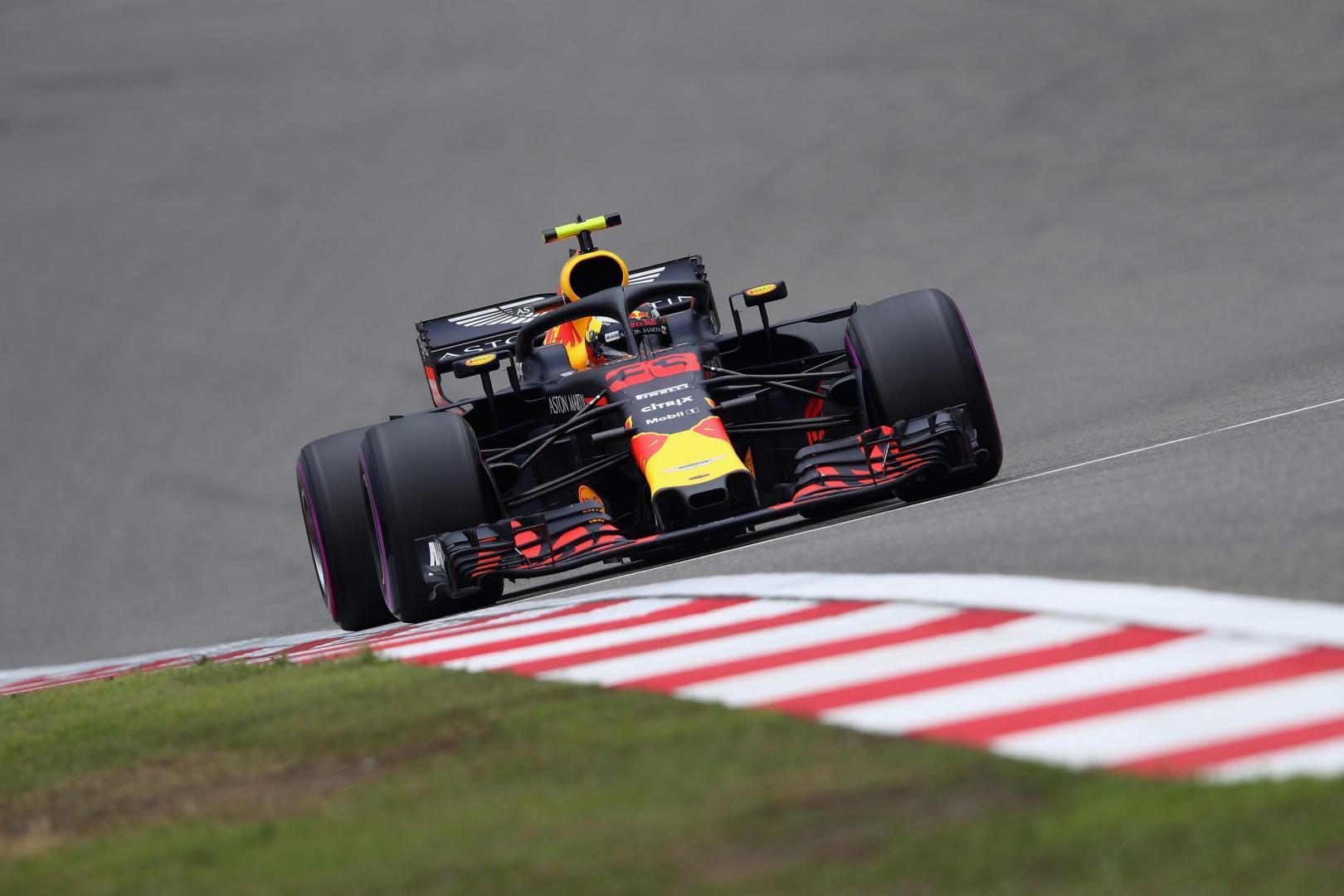 Uitslag van de GP van China 2018