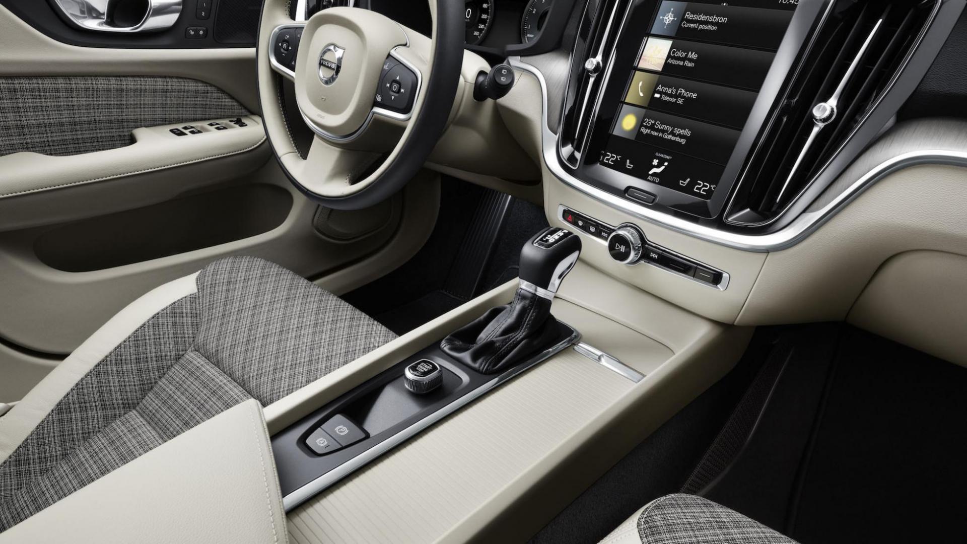 Volvo V60 interieur 2