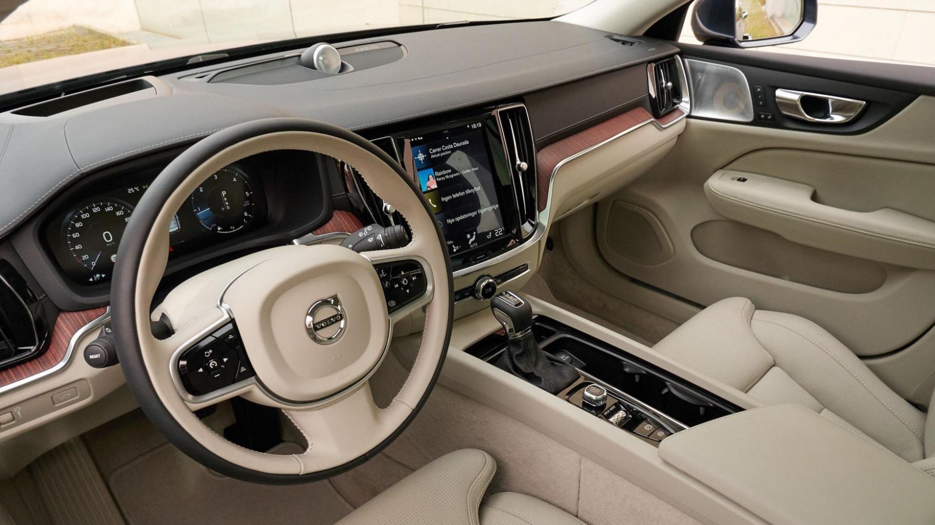 Volvo V60 interieur