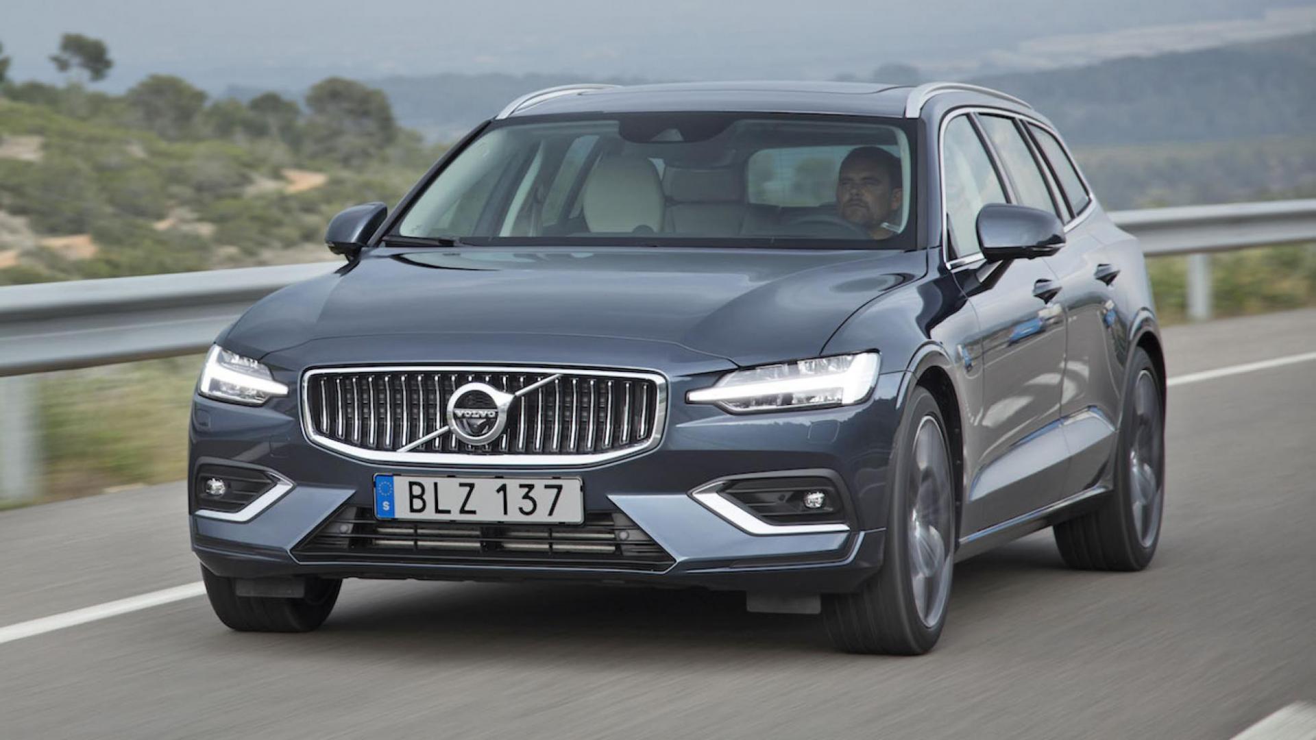 Volvo V60 voorzijde