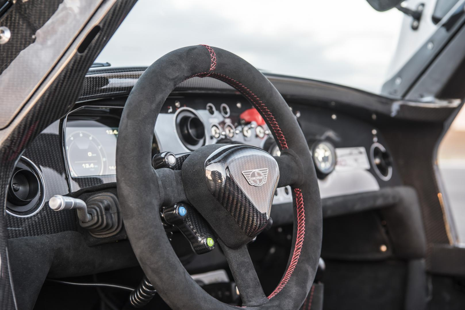 Donkervoort D8 GTO-40 interieur