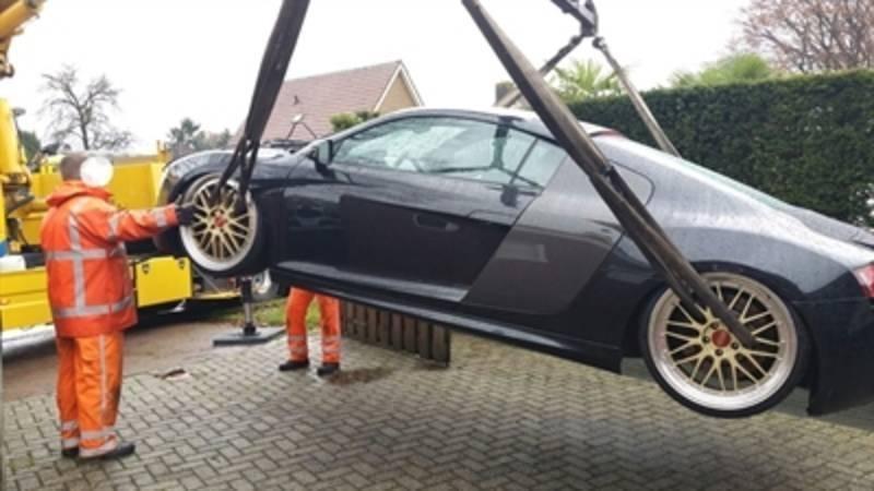 Koop een Audi R8 met airride