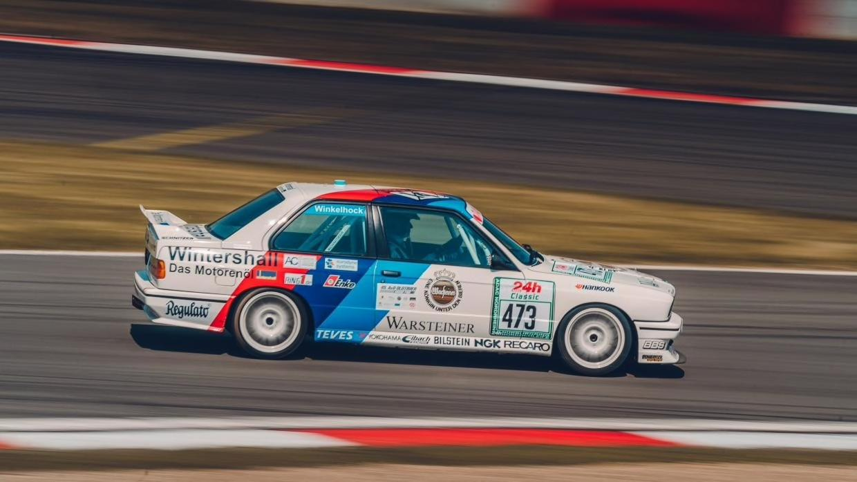 klassieke racers op de Nürburgring