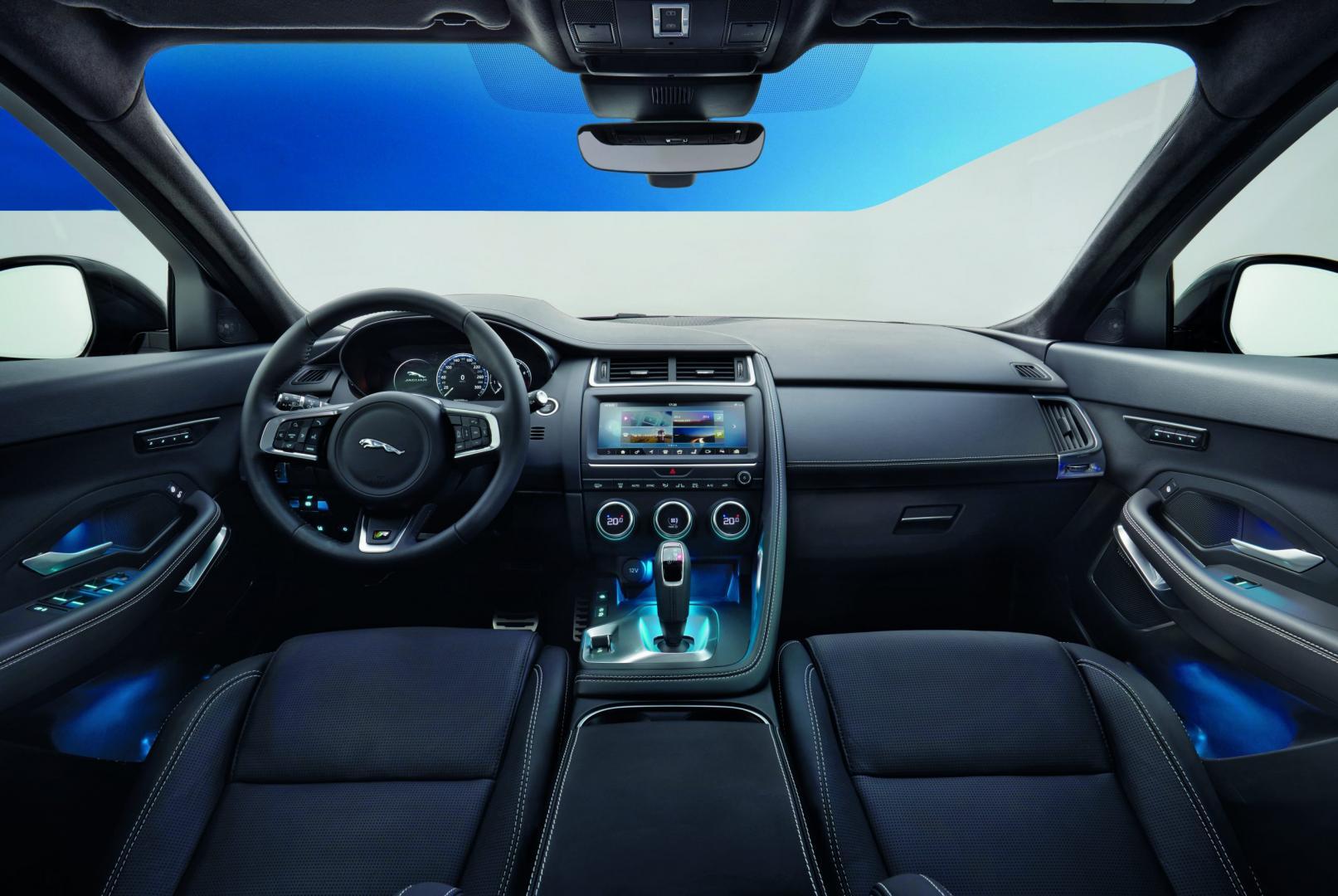Jaguar E-Pace D180 SE AWD interieur (2018)