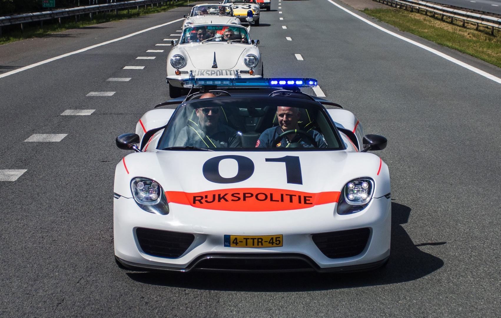 Aantal Porsche 918 en Carrera GT in Nederland