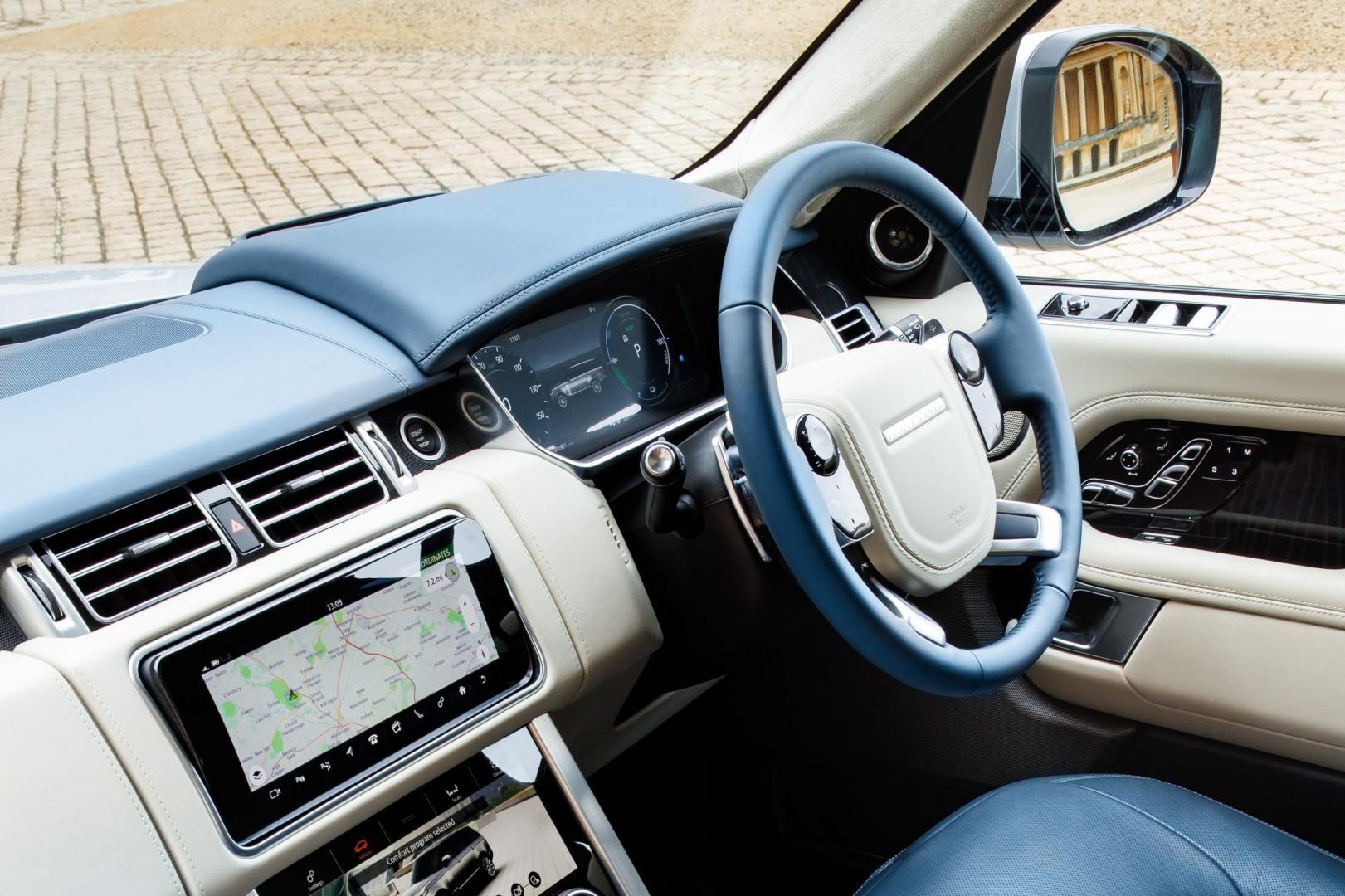 Range Rover P400e PHEV interieur (2018)
