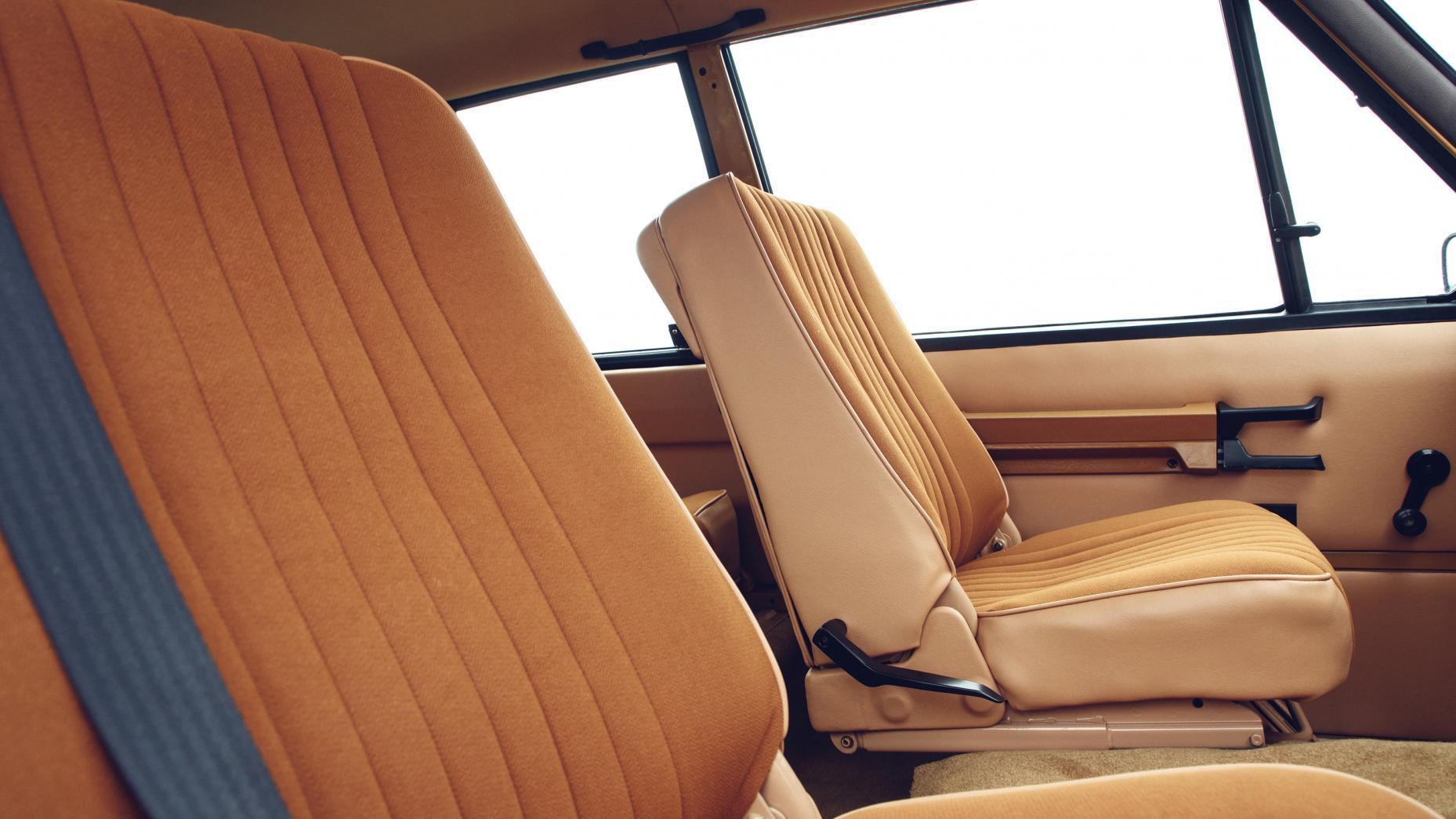 Range Rover interieur (prolongatie)