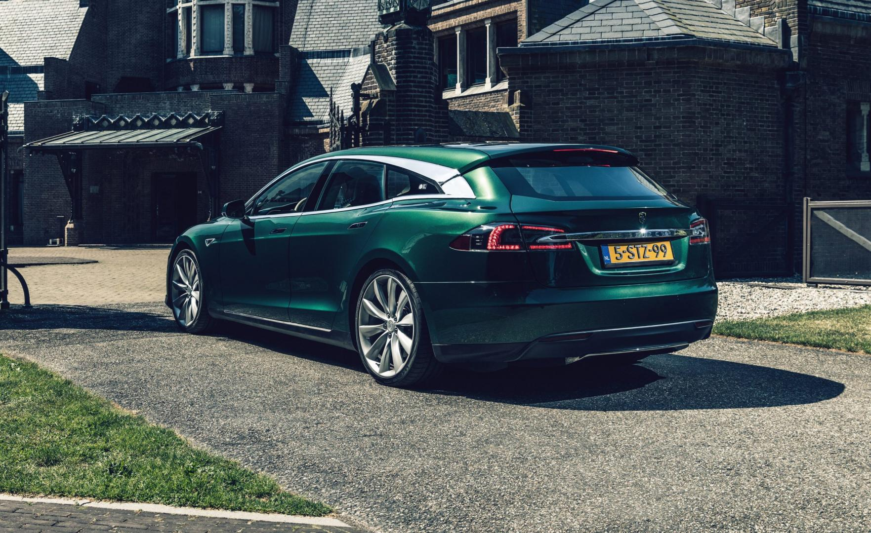 Tesla Model S Shooting Brake RemetzCar Model SB