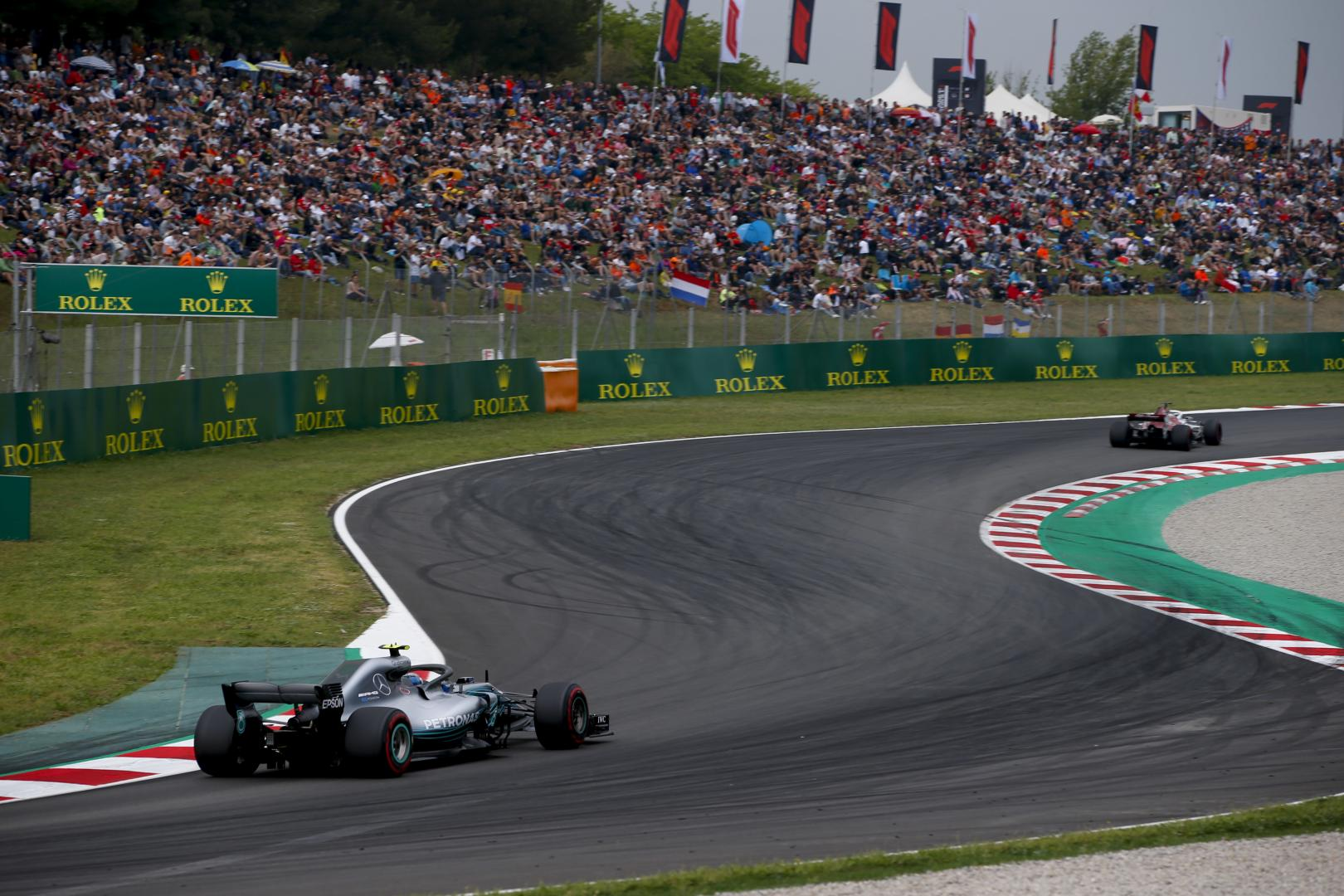 Uitslag van de GP van Spanje 2018Uitslag van de GP van Spanje 2018