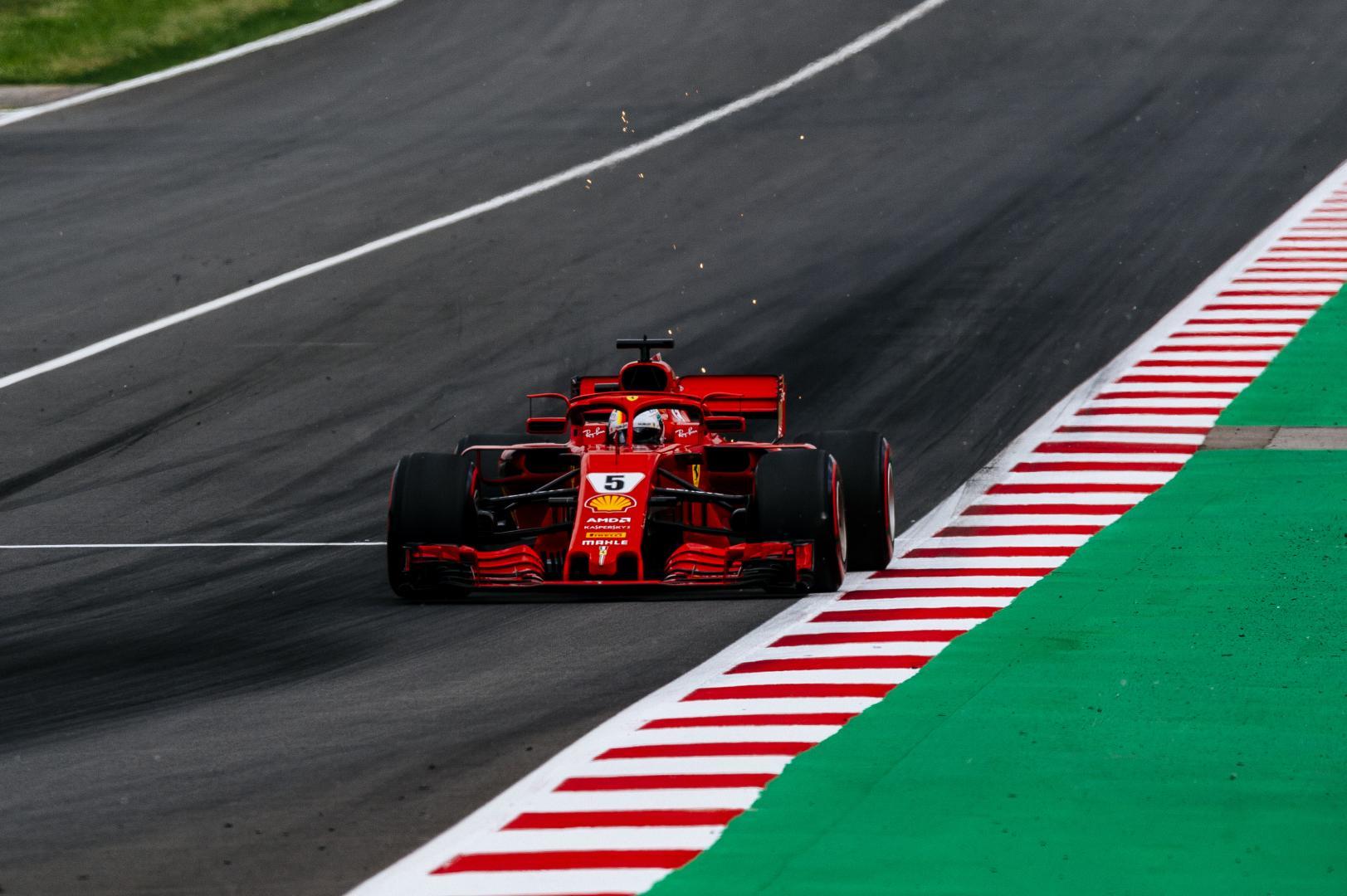 Uitslag van de GP van Spanje 2018