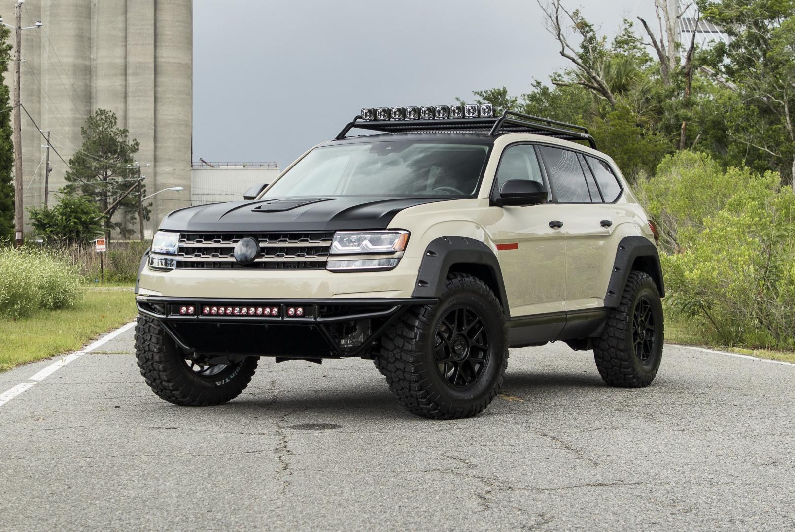 Volkswagen Atlas verhoogd