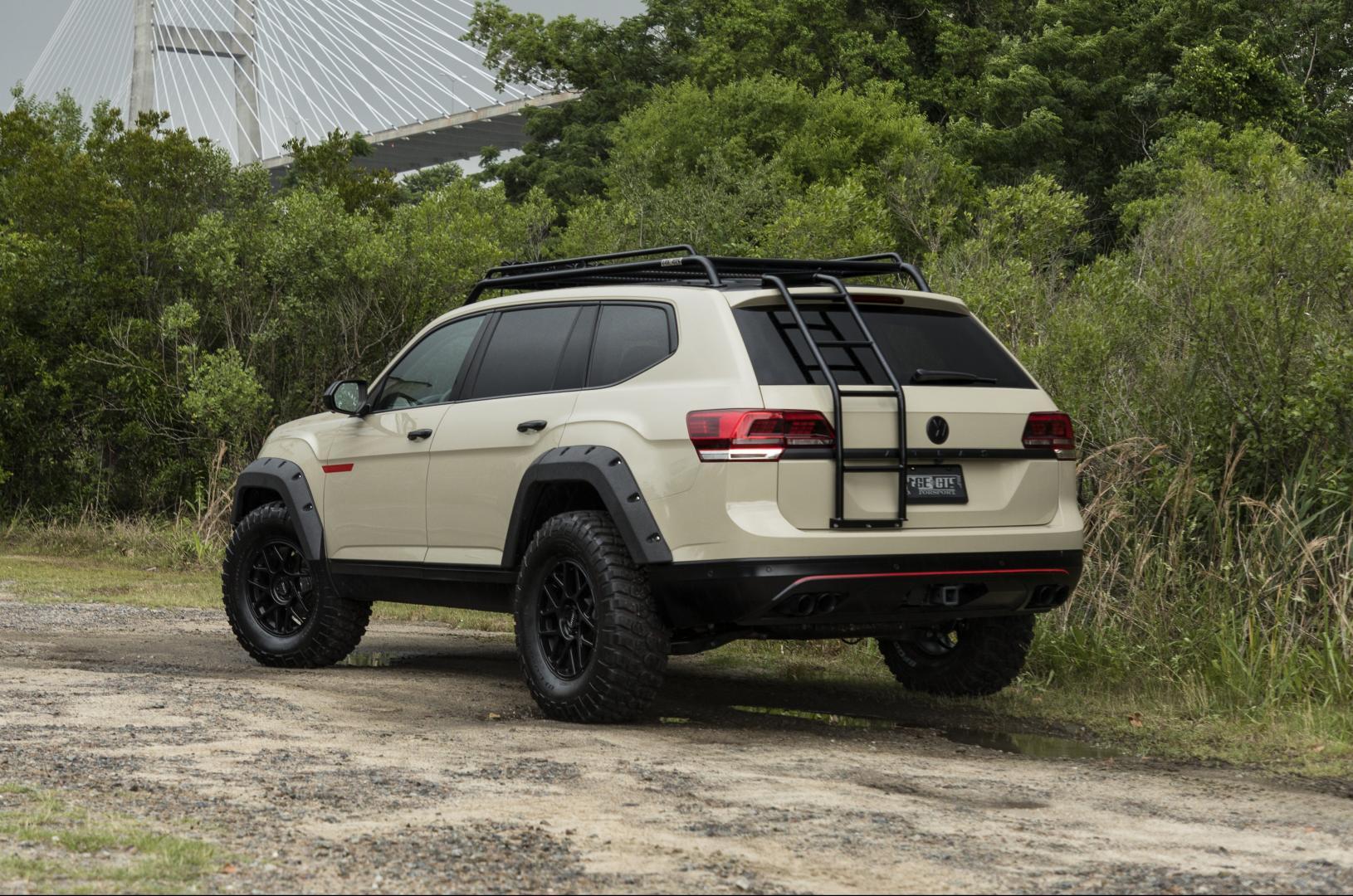 Volkswagen Atlas wielkastverbreder