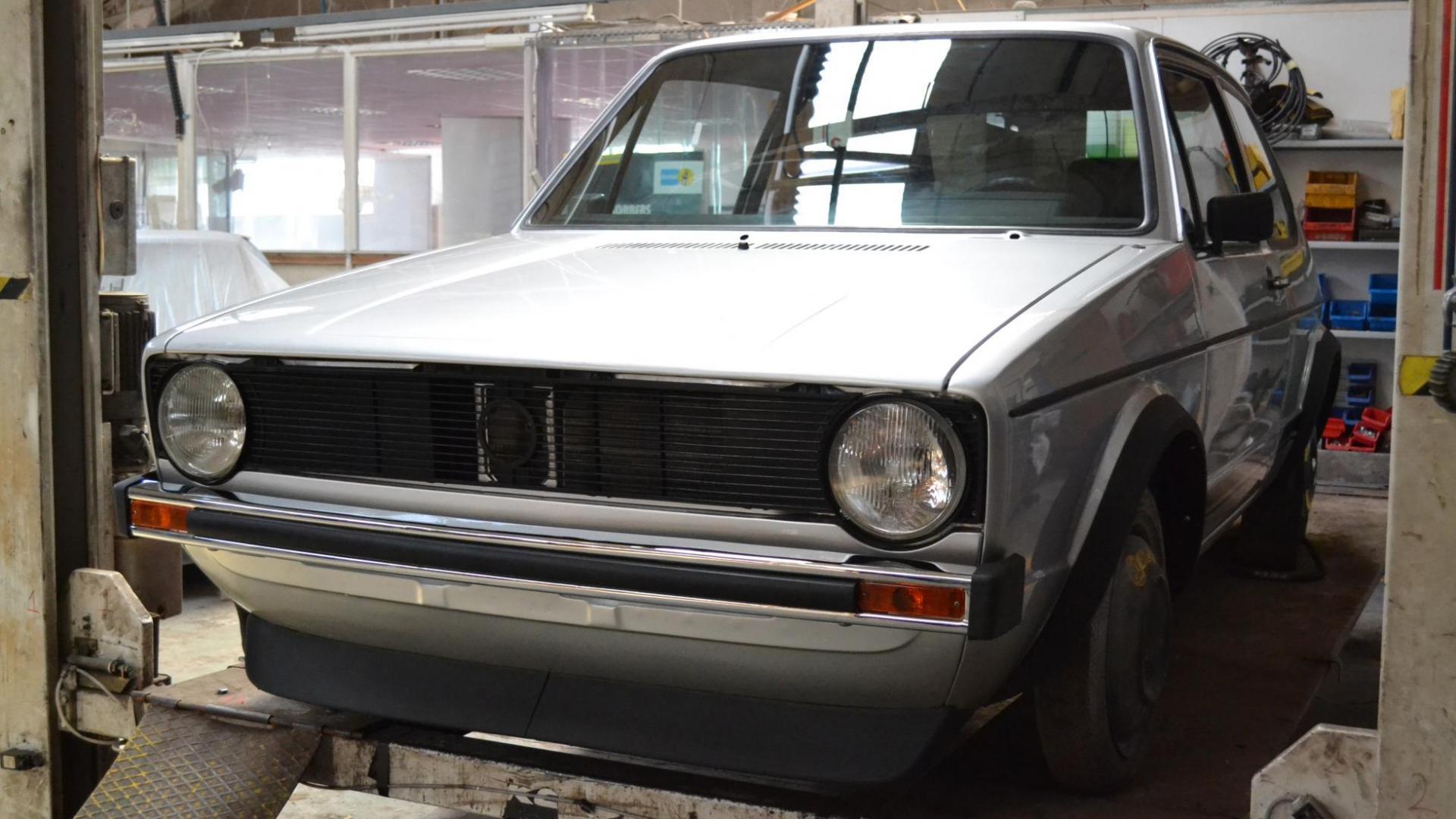 Volkswagen Golf I GTI restauratie
