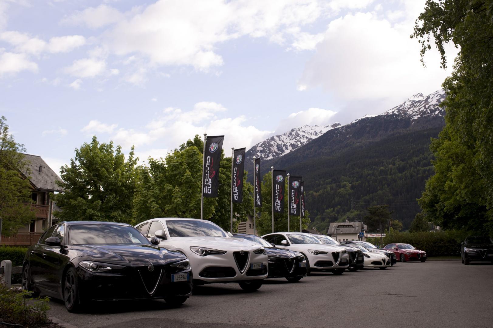 Alfa Romeo stelvio en giulia